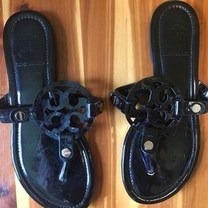 Black Tory Burch Sandals Size 8
